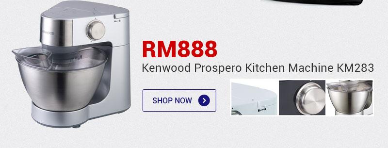 Kenwood Prospero Kitchen Machine KM283 RM 888