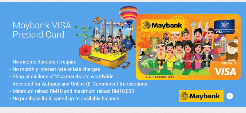 Maybank VISA Prepaid Card - Superbuy Malaysia Online